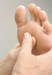 Fußreflexzonentherapie und -massage
